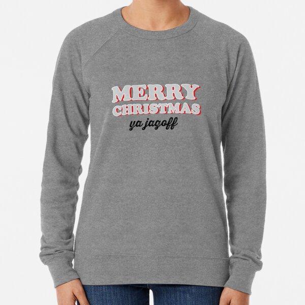 Merry Christmas Ya Jagoff Lightweight Sweatshirt