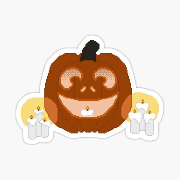 Spooky Pumpkin Sticker