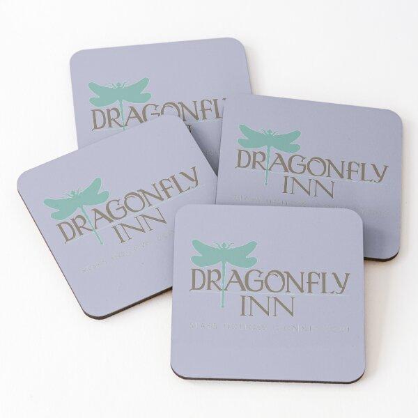 Dragonfly Inn Coasters (Set of 4)