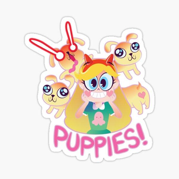PUPPIES! Sticker