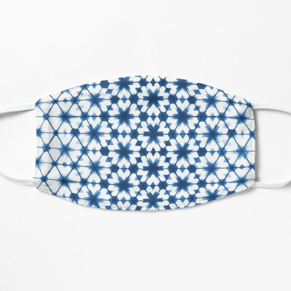 Shibori via Morocco Flat Mask