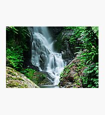 Beautiful Waterfall  Photographic Print
