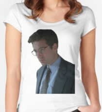 Fox Mulder - The X-Files Women's Fitted Scoop T-Shirt