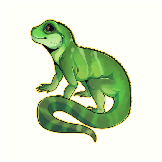 Chinese Water Dragon by cargorabbit