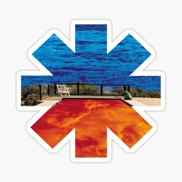 Red Hot Chili Peppers - Californication Sticker