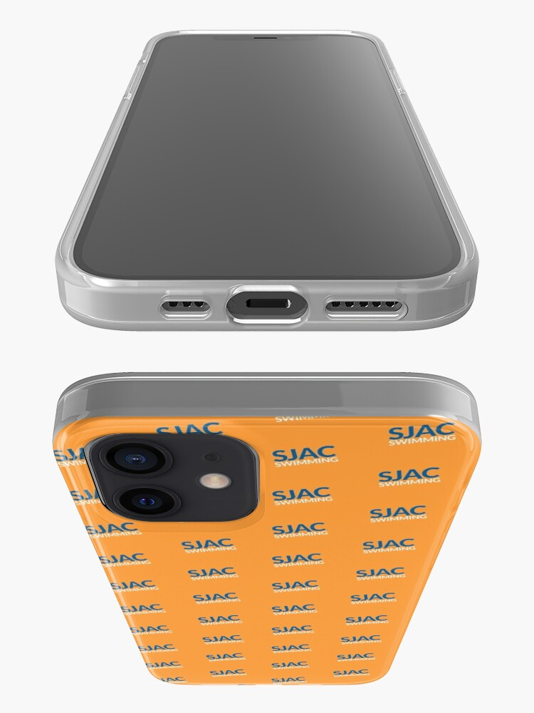 Alternate view of SJAC Pattern Orange iPhone Case & Cover