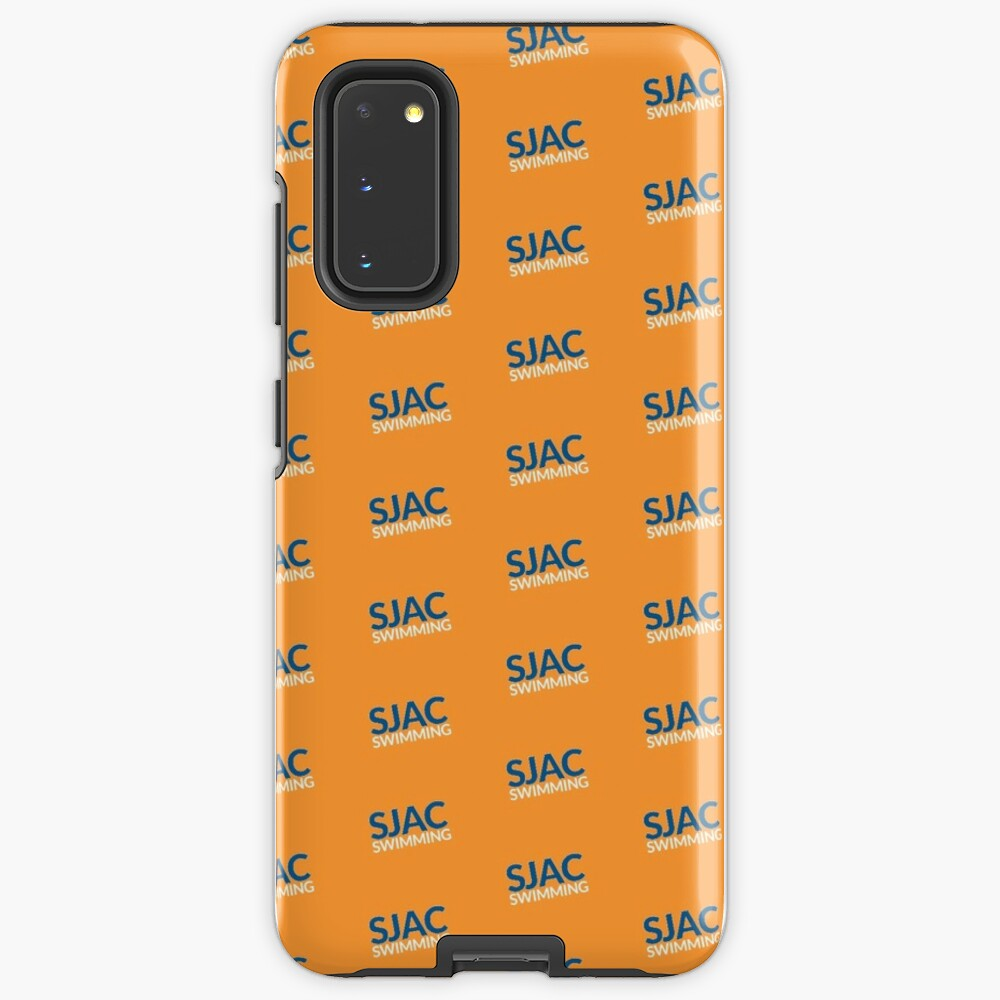 SJAC Pattern Orange Case & Skin for Samsung Galaxy