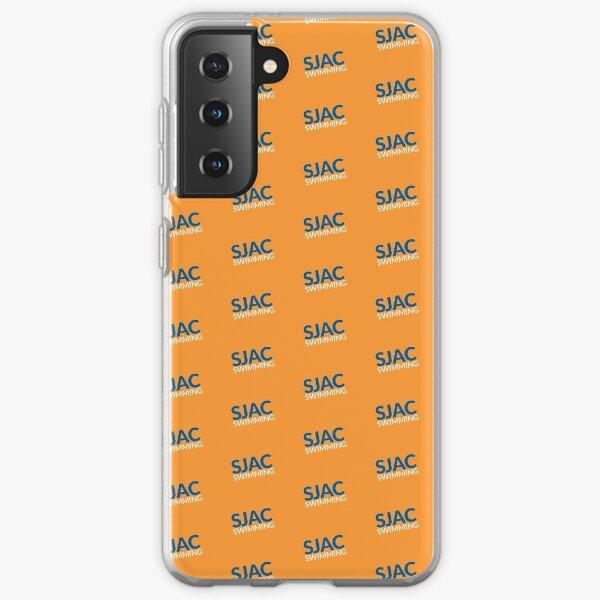 SJAC Pattern Orange Samsung Galaxy Soft Case