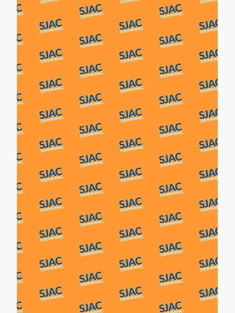 SJAC Pattern Orange by ProShopatNLAC