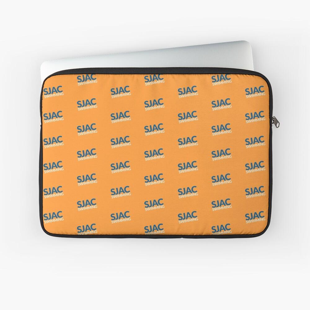 SJAC Pattern Orange Laptop Sleeve
