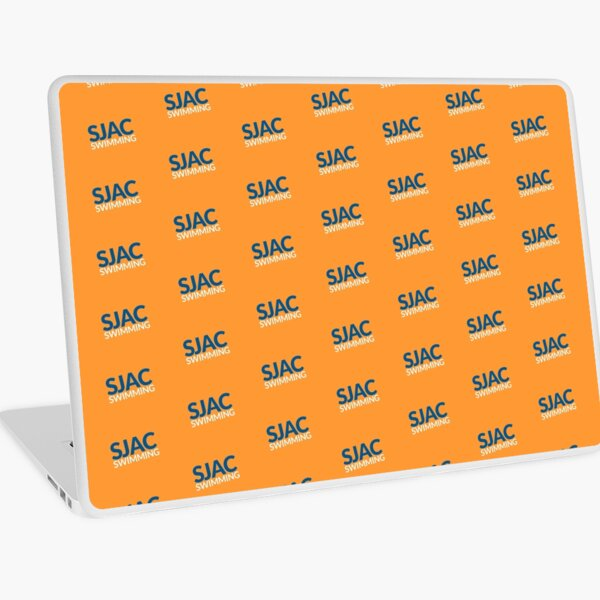 SJAC Pattern Orange Laptop Skin