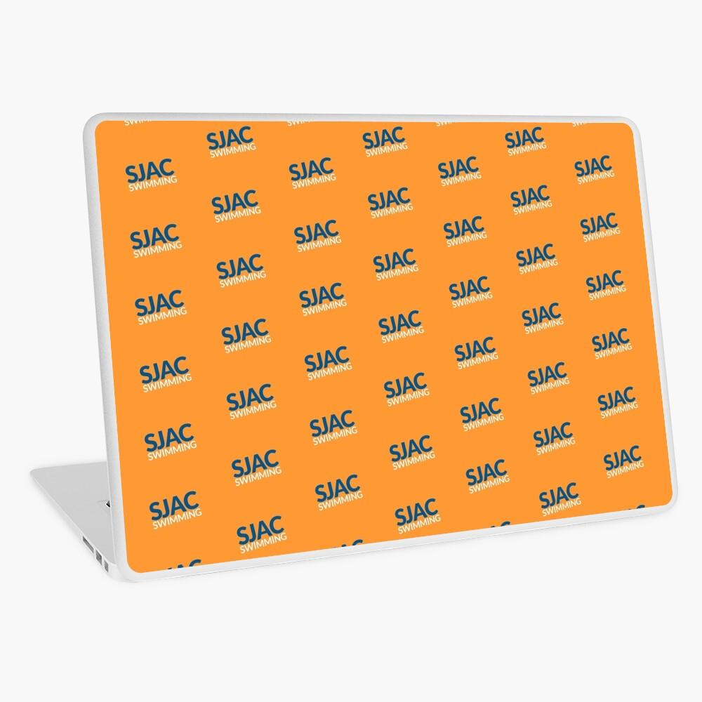 SJAC Pattern Orange Laptop Skin