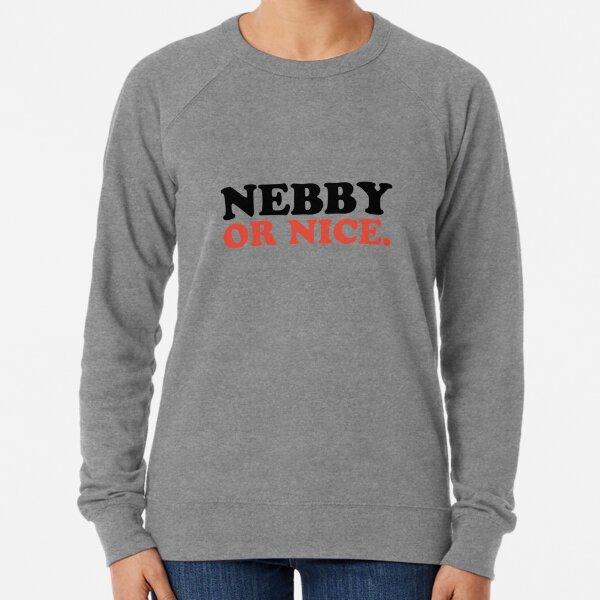 Nebby Or Nice Lightweight Sweatshirt