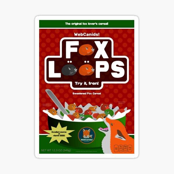 Fox Loops - Fruit Mix Sticker