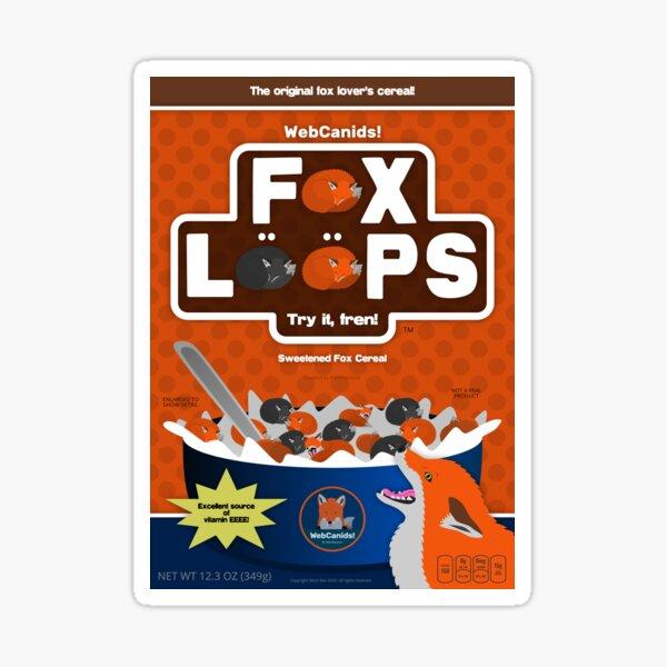 Fox Loops - Original Sticker
