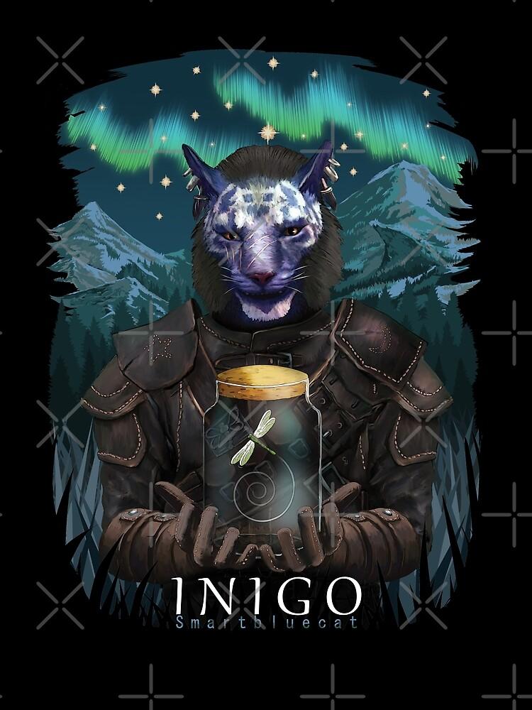 Inigo and Mr Dragonfly by smartbluecat