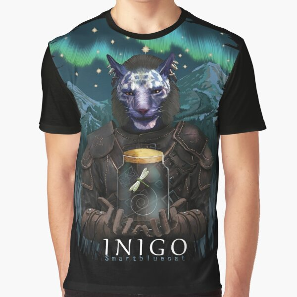 Inigo und Mr Dragonfly Grafik T-Shirt