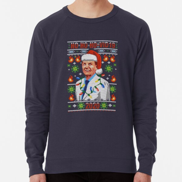COVID-19 Ugly Christmas Sweater Design The Wind Of God Preacher WTFBrahh Lightweight Sweatshirt