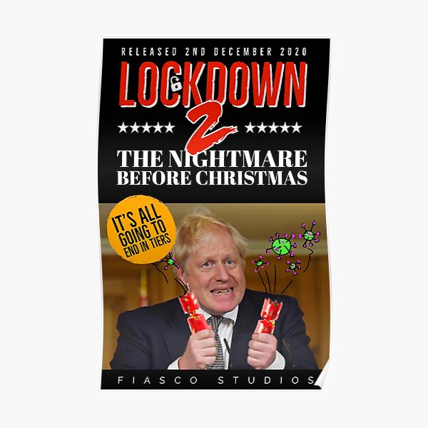 Lockdown 2 - The Nightmare Before Christmas Poster
