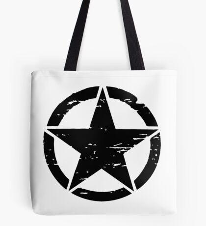 Detressed Star Tote Bag