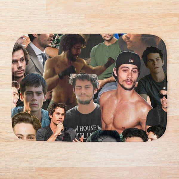 Collage de photos Dylan O'Brien Tapis de bain