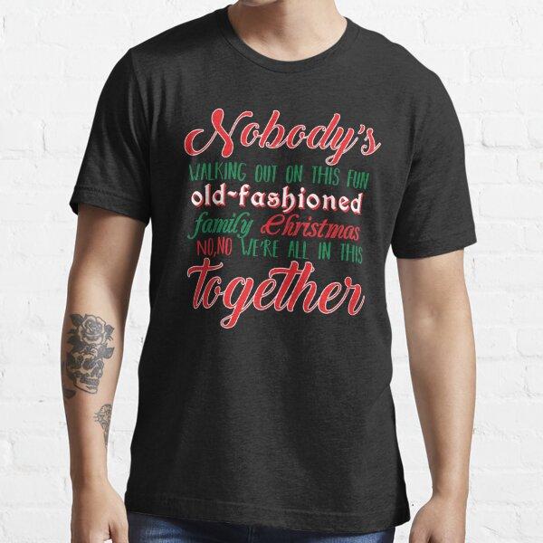 Nadie se va Camiseta esencial