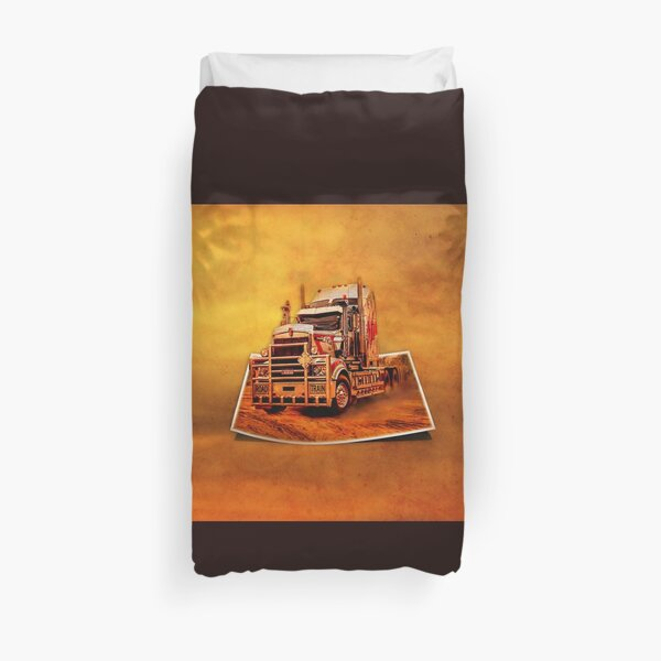 Truck - Out of Bounds Duvet Cover