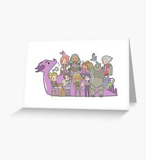 Dragon Age - Origins Companions Greeting Card