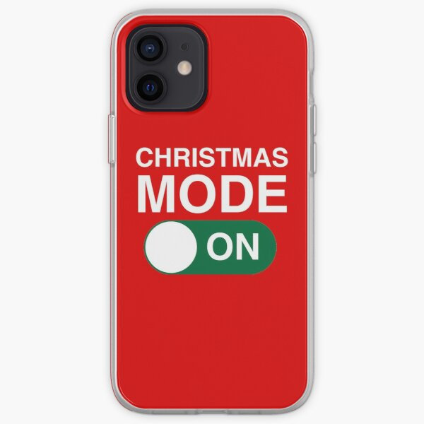 Christmas Mode: ON iPhone Soft Case