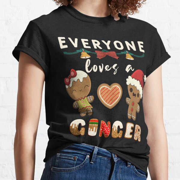 Everyone Loves A Ginger Funny Christmas Gingerbread man  Classic T-Shirt