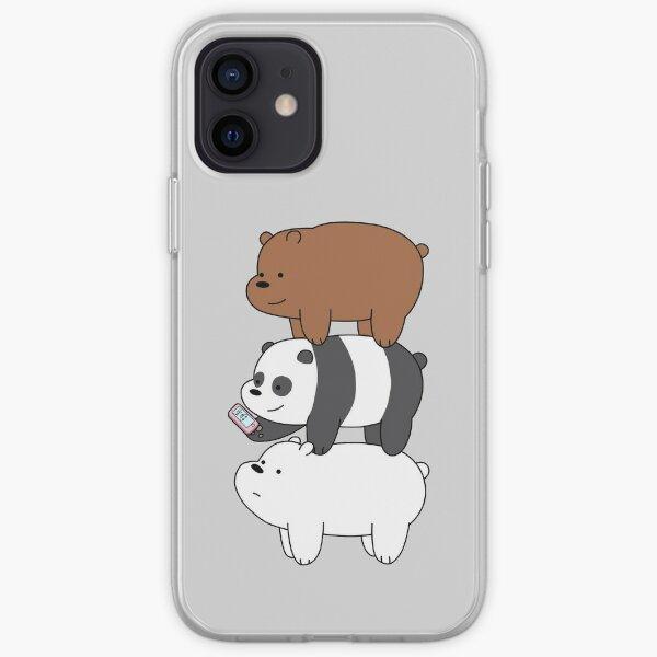 Wir Bare Bears ™ Grizzly, Panda und Eisbär iPhone Flexible Hülle