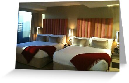 Double Hotel Beds by pcts