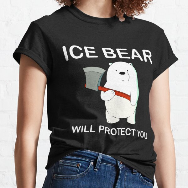 We Bare Bears™ Ice Bear will protect you Classic T-Shirt