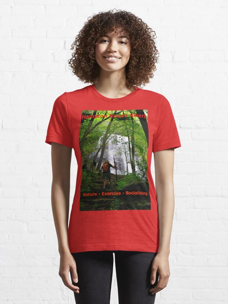 Alternate view of Hampton Roads Hikers T-Shirt Essential T-Shirt