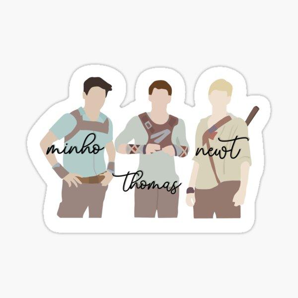 Maze Runner Trio Sticker