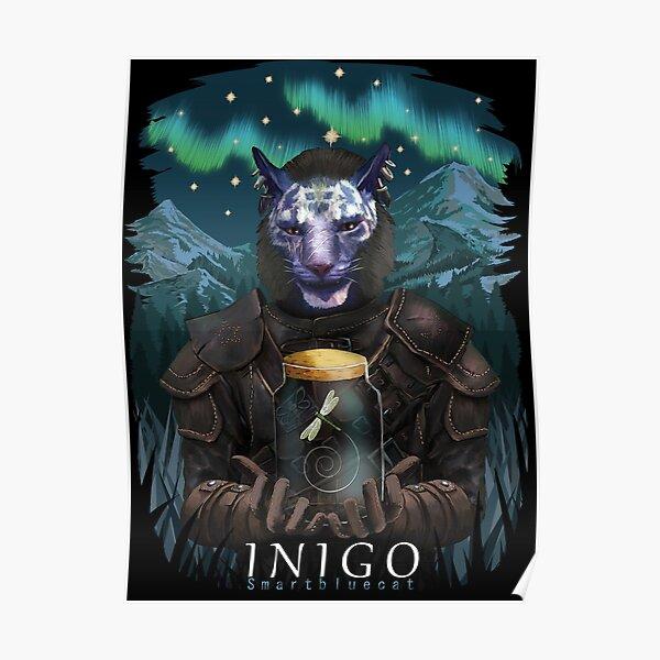 Inigo and Mr Dragonfly Poster