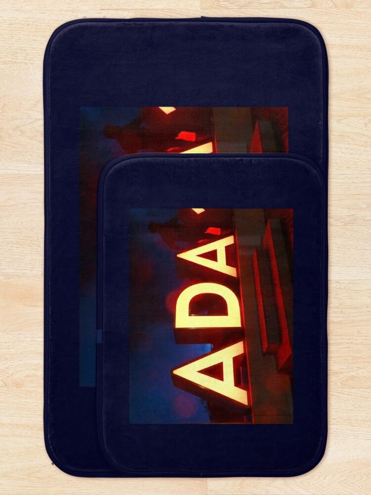 Alternate view of Ada, Ada mug, Ada sticker, Ada magnet, Ada mug, Ada mask  Bath Mat