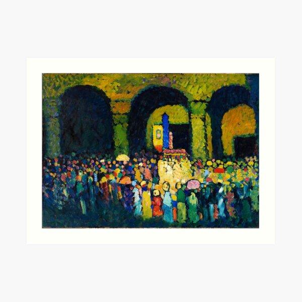 T-Shirt Homme Peinture Wassily Kandinsky Art Oeuvre