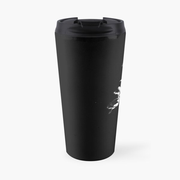 Curious pelicans on water Travel Mug