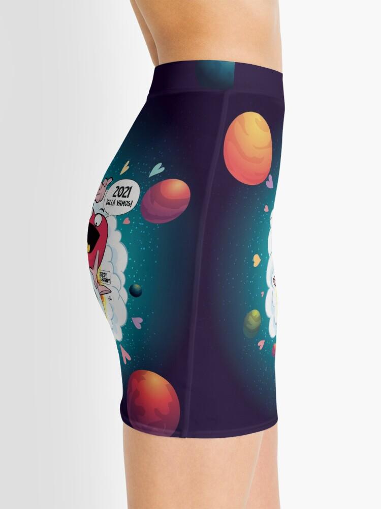 Vista alternativa de Minifalda J&B - 2021 Allá vamos - Azul