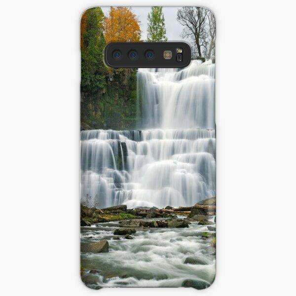 High Flow in Autumn - Chittenango Falls Samsung Galaxy Snap Case