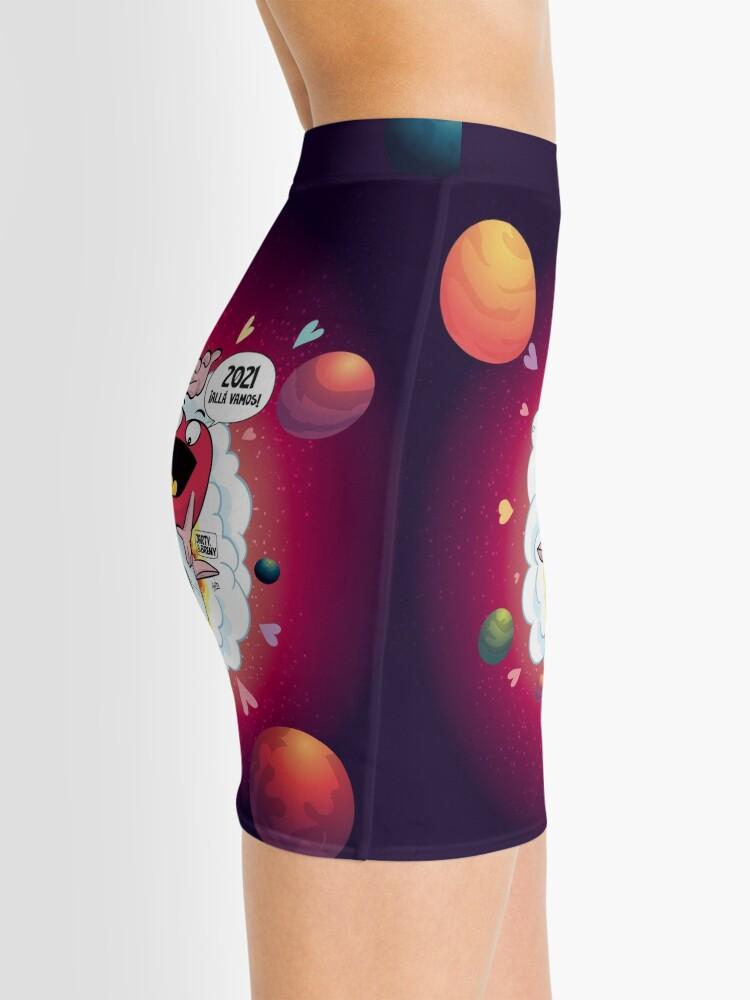 Vista alternativa de Minifalda J&B - 2021 Allá vamos - rojo