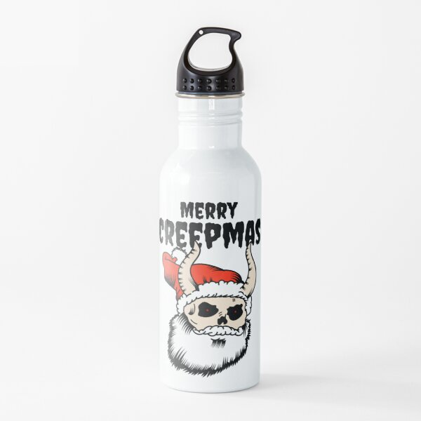 Merry Creepmas - Horror Christmas  Water Bottle