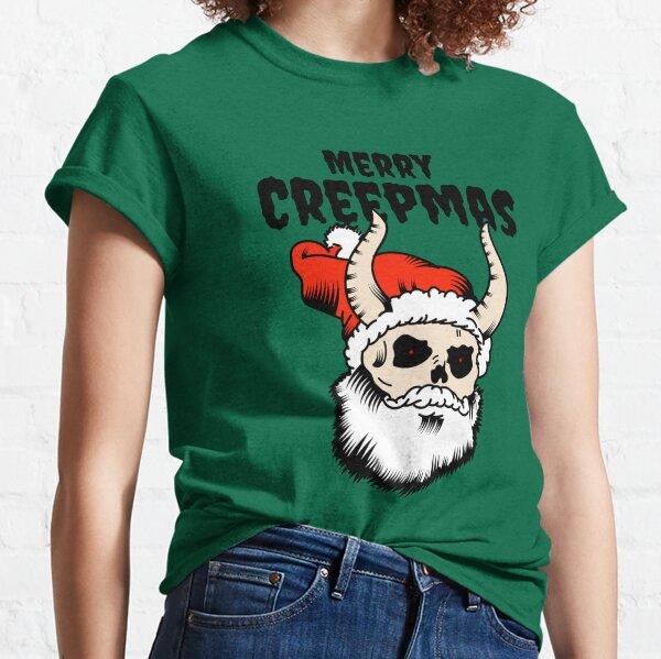 Merry Creepmas - Horror Christmas  Classic T-Shirt
