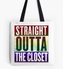 Straight Outta the closet Tote Bag