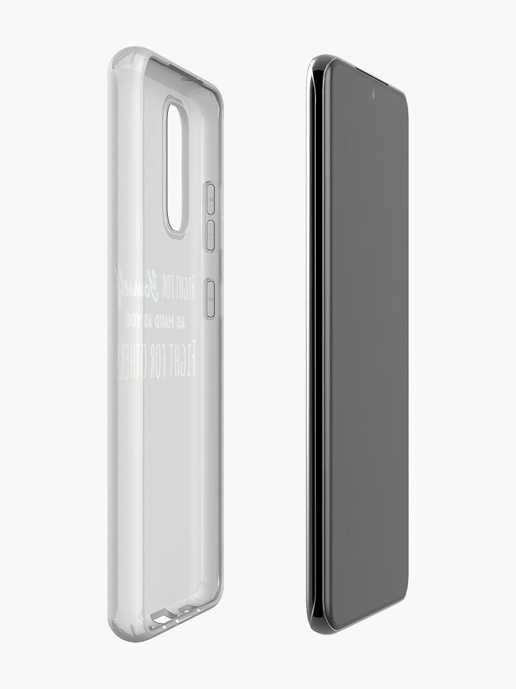 Alternate view of Fight for yourself Case & Skin for Samsung Galaxy