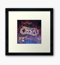 GALACTiC SNES Framed Print