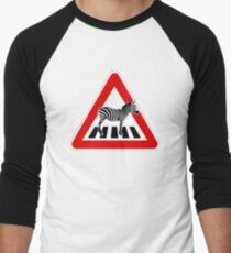 Attention Zebra on crosswalk T-Shirt