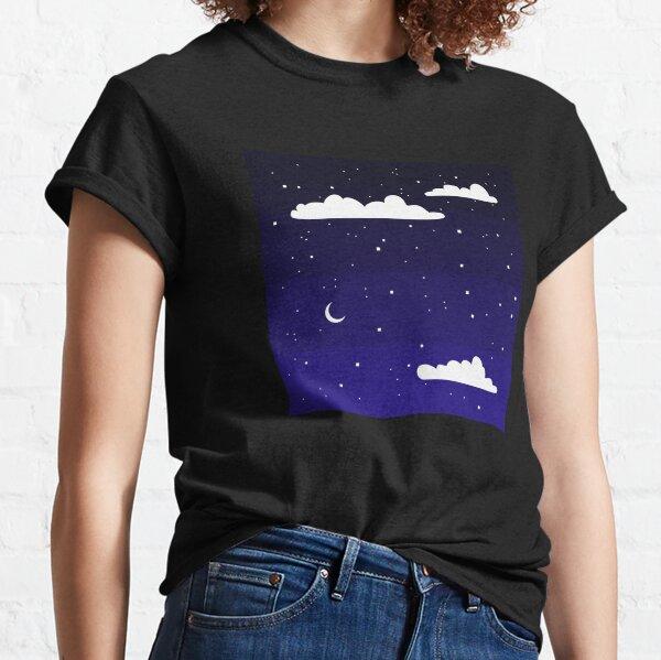 Simple Night Sky Classic T-Shirt