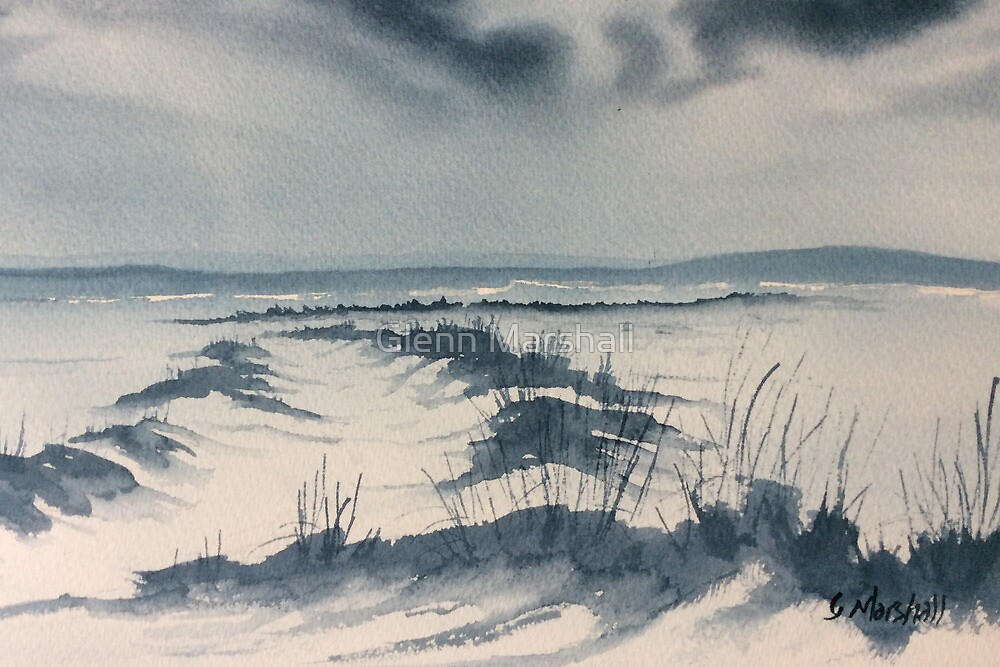 Winter Light over Lastingham Rigg by Glenn Marshall